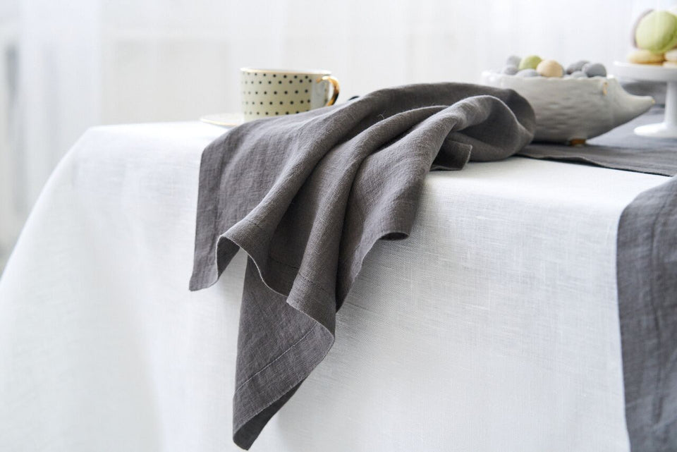 "Table Napkin ""Grey"""