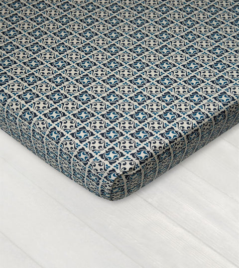 Bedsheet With Rubber - Arabesque