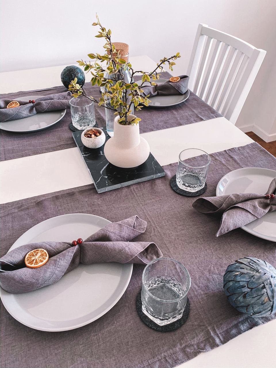 "Table Mat ""Grey"""