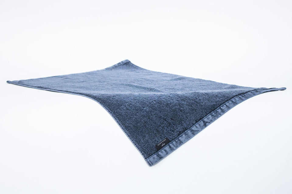 "Bath Mat ""Denim Blue"""
