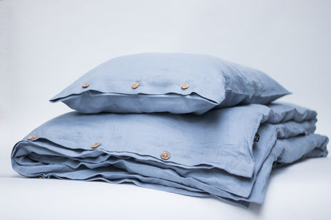 "Flax Bedding Set ""Cloud"""