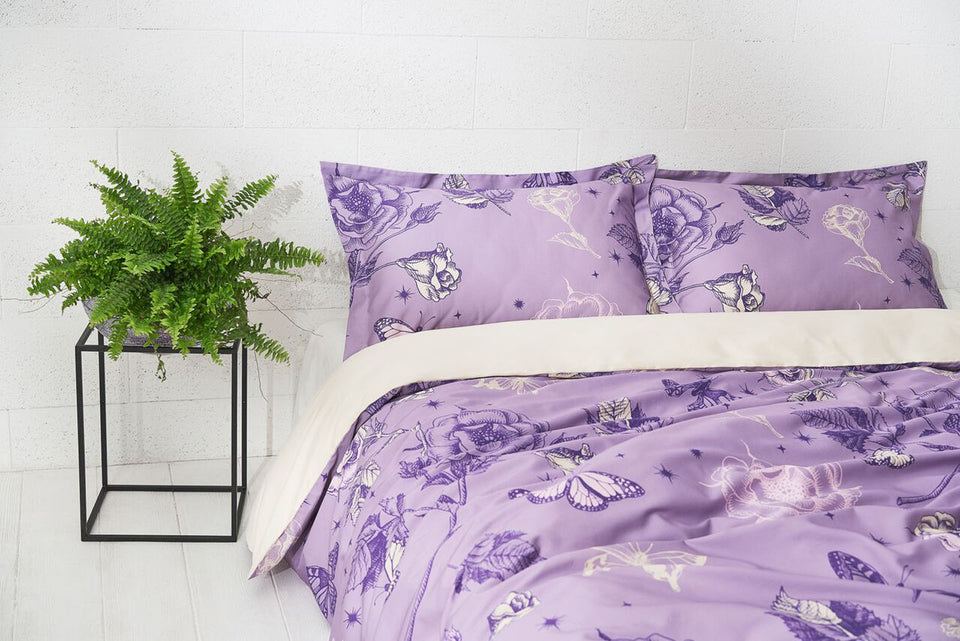 "Bedding Set ""Violet Dream"" 200x200cm"