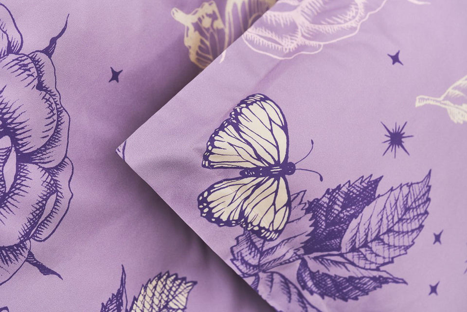 "Bedding Set ""Violet Dream"" 140x200cm"