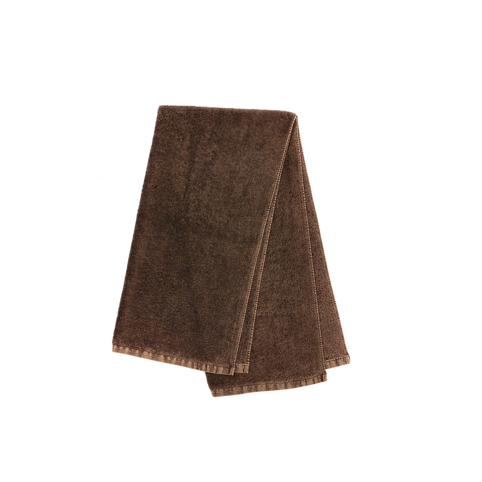 "Bath Towel ""Denim Brown"""