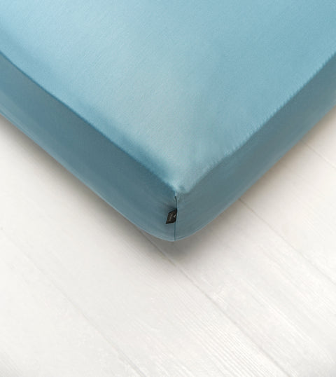 Bedsheet With Rubber - Cold Green Color - DREAMON