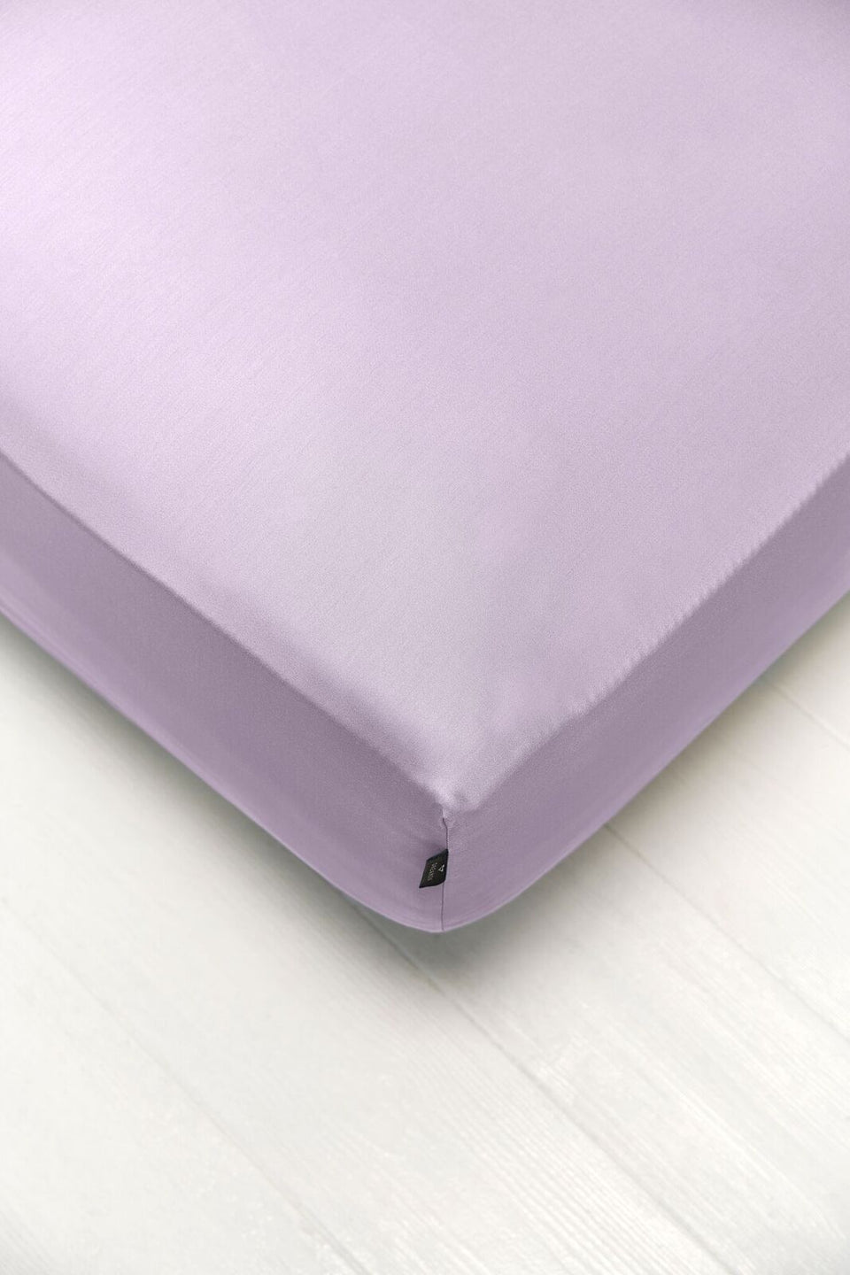 Bedsheet With Rubber - Lilac Color