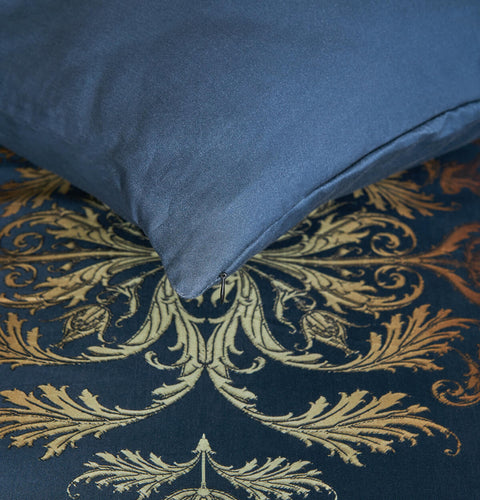 "Premium sateen Bed Set ""Imperial Damask Light"""