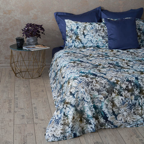 "Bedding Set ""Damask Of Waves"""