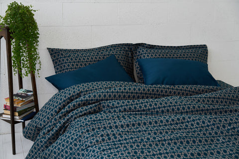 "Bedding Set ""Night Green"""