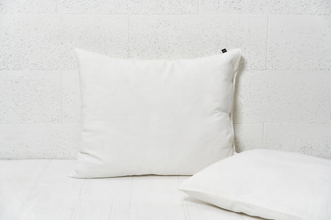 "Flax pillow cover ""White"""