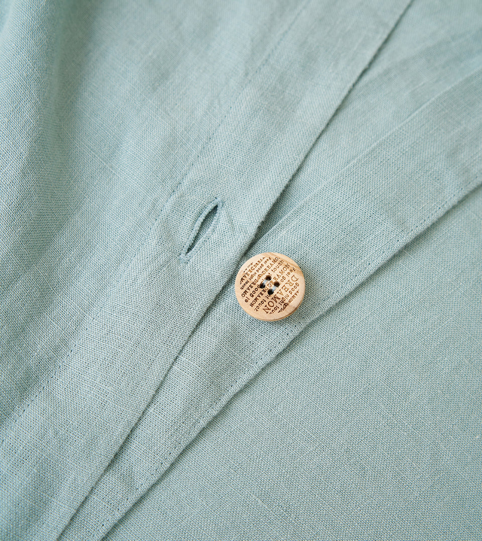 "Flax Bedding Set ""Mint"""