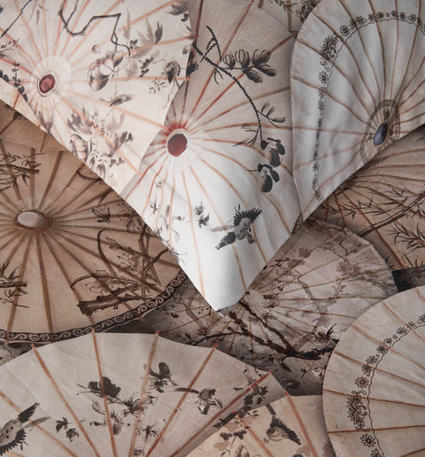 "High quality cotton bed set ""Mitsuki"" - Dreamon"