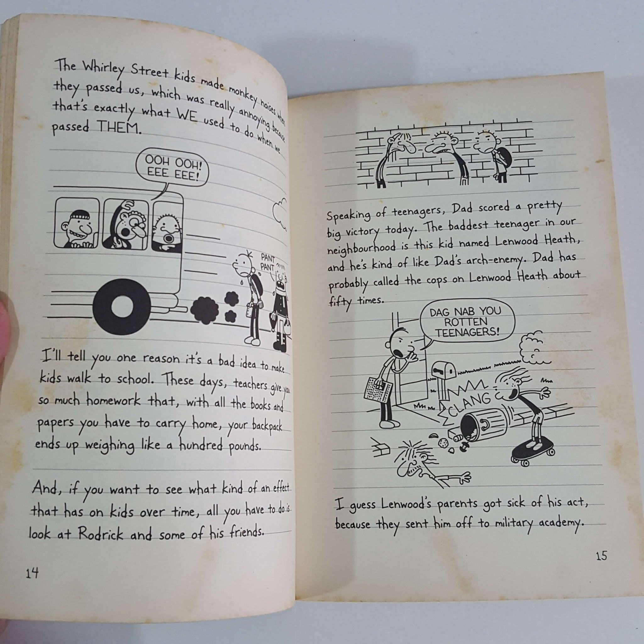 Diary Of A Wimpy Kid The Last Straw By Jeff Kinney Dokusho Bookstore Second Hand Books Specialist