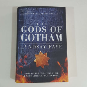 The Gods of Gotham by Lyndsay Faye (Hardcover)