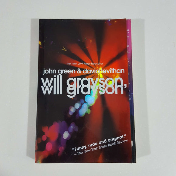 Will Grayson, Will Grayson by Green & Levithan