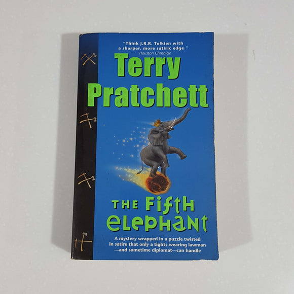 The Fifth Elephant (Discworld #24) by Terry Pratchett