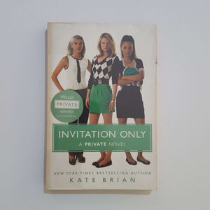 Invitation Only by Kate Brian