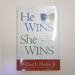 He Wins, She Wins: Learning The Art Of Marital Negotiation (Hardcover)