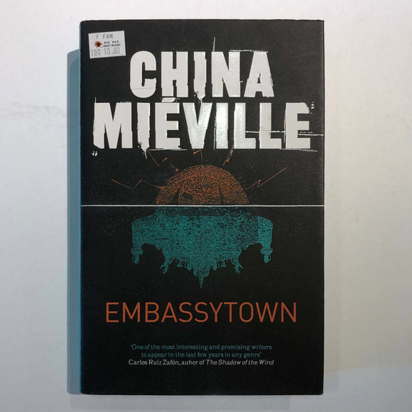 Embassytown by China Miéville (Hardcover)