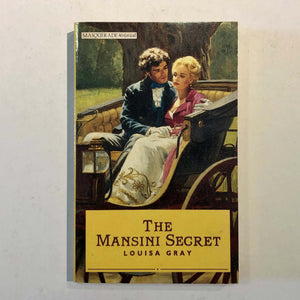 The Mansini Secret by Louisa Gray
