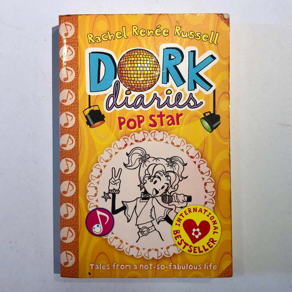 Tales from a Not-So-Talented Pop Star (Dork Diaries #3) by Rachel Renée Russell