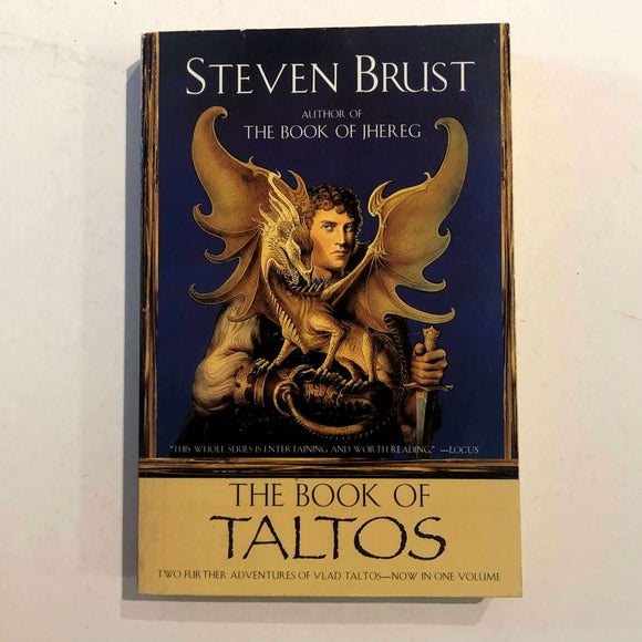 The Book of Taltos (Vlad Taltos #4-5) by Steven Brust