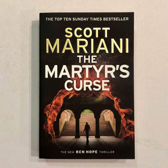 The Martyr's Curse (Ben Hope #11) by Scott Mariani