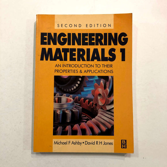 Engineering Materials Volume 1 by Ashby and Jones