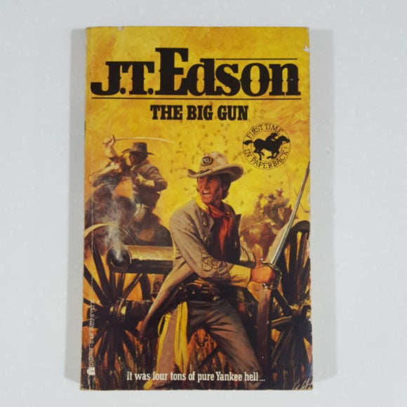 The Big Gun by J.T. Edson [Vintage]