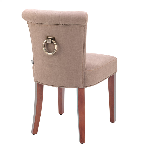 Eichholtz Dining Chair Key Largo camel linen NEW