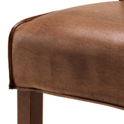 Eichholtz Dining Chair Barnes tobacco leather