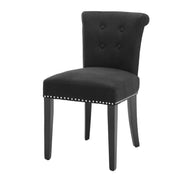 Eichholtz Dining Chair Key Largo black linen