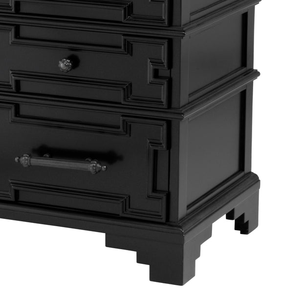 Eichholtz Chest Pickard waxed black finish