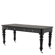 Eichholtz Desk Buckingham piano black finish