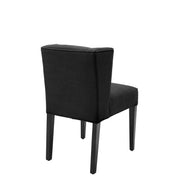 Eichholtz Dining Chair Boca Raton panama black