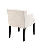 Eichholtz Dining Chair Boca Raton arm panama natural