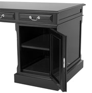 Eichholtz Desk British waxed black finish