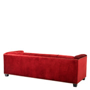 Eichholtz Sofa Paolo essex red