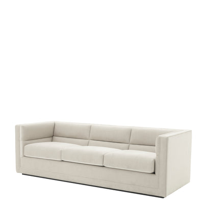 Eichholtz Sofa Adonia pebble grey
