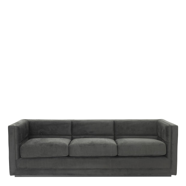 Eichholtz Sofa Adonia anthracite grey