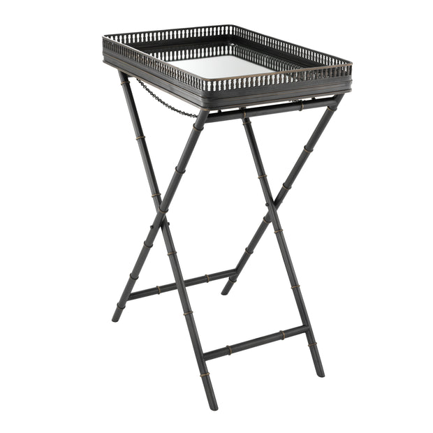 Eichholtz Butler Tray Isola Gunmetal Highlight Finish