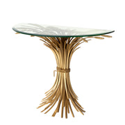 Eichholtz Console Table Bonheur Antique Gold Finish