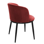 Eichholtz Dining Chair Filmore cameron wine red set of 2