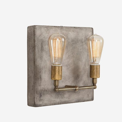 Andrew Martin  Cameron Double Wall Light   Brass
