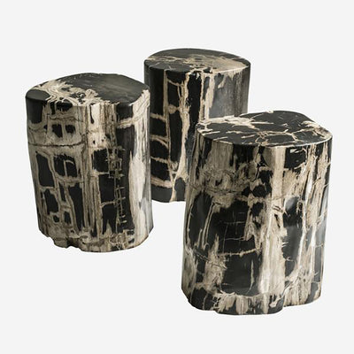 Andrew Martin Petrified Log Stool