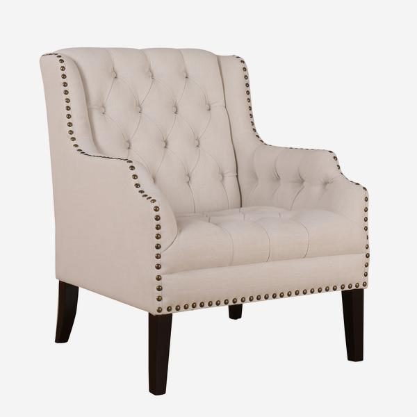 Compare prices for Andrew Martin Bassett Chair in Cream