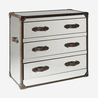 Andrew Martin Howard Steel Chest of Drawers