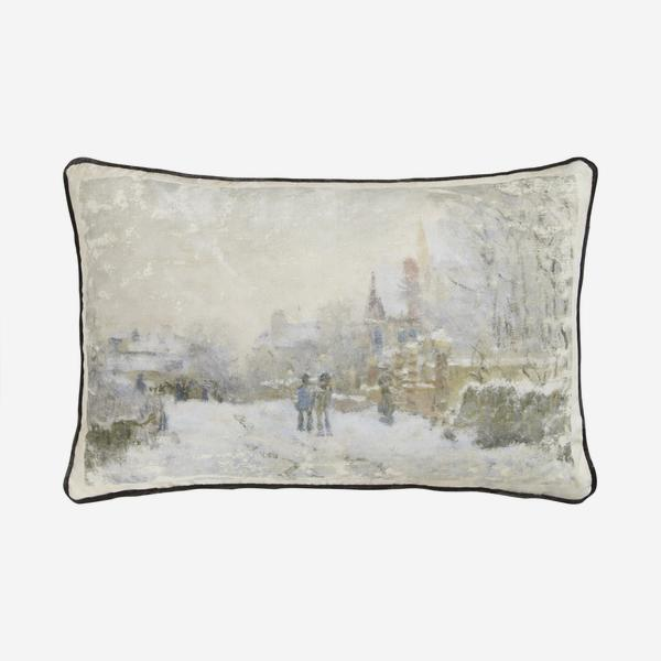 Andrew Martin National Gallery Monet Winter Cushion-AndrewMartin-Olivia's