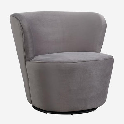 Andrew Martin Dorothy Swivel Chair, Grey