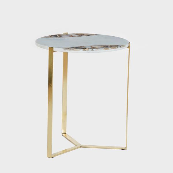Andrew Martin Shea Side Table-AndrewMartin-Olivia's